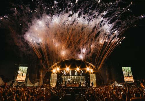 large concert